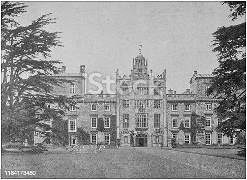 Antique photo: Wilton House, near Salisbury