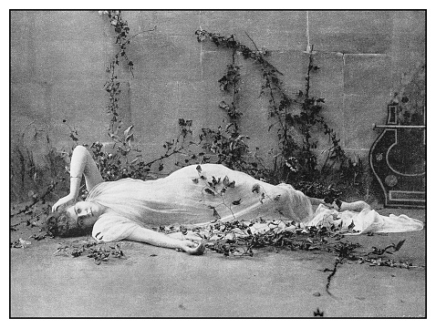 Antique photo: Woman
