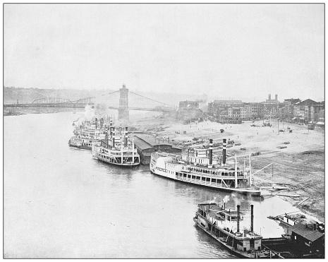Antique photograph: Cincinnati, Ohio