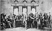 Antique photograph: Congress of Berlin, 1878
