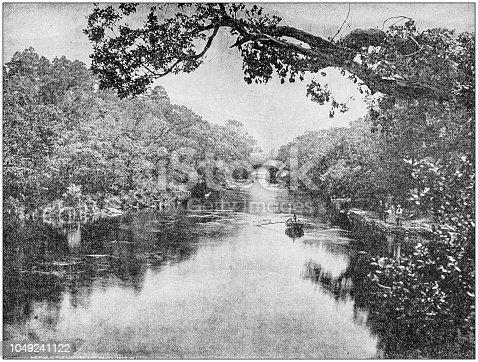 Antique photograph: Killarney, Ireland