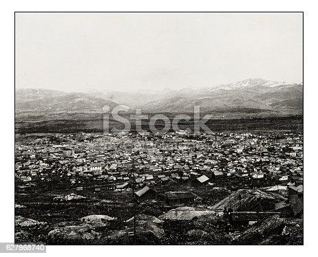 Antique photograph of Leadville, Colorado