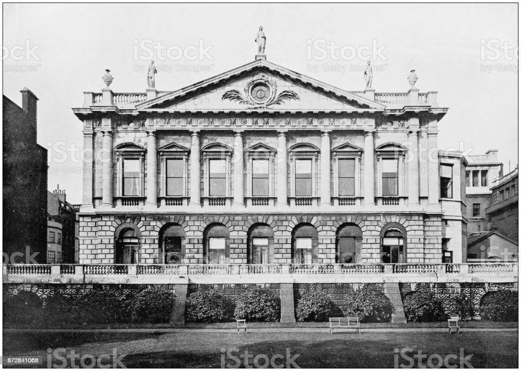 Antique photograph of London: St James' Place stock photo