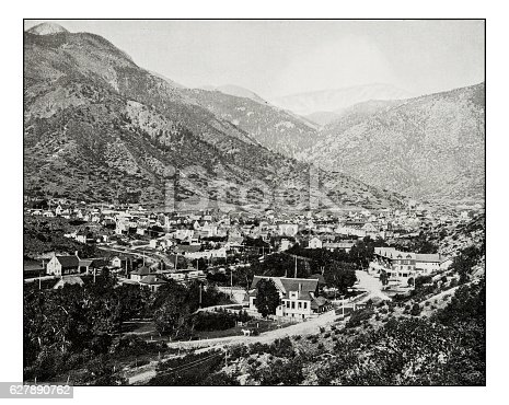 Antique photograph of Manitou