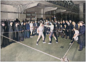 istock Antique photograph of the British Empire: Boxing at the Regent Street Polytechnic 1314509535