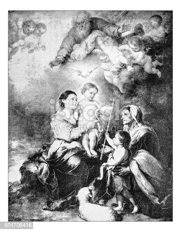 istock Antique photograph of