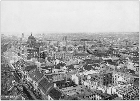 Antique photograph of World's famous sites: Berlin