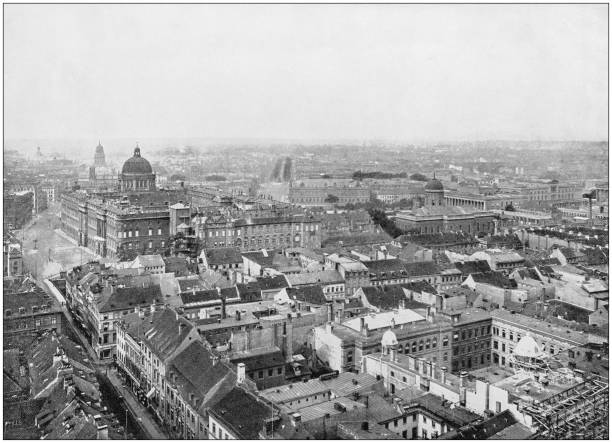 Antique photograph of World's famous sites: Berlin Antique photograph of World's famous sites: Berlin 1890 stock pictures, royalty-free photos & images