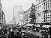 Antique photograph of World's famous sites: Chicago