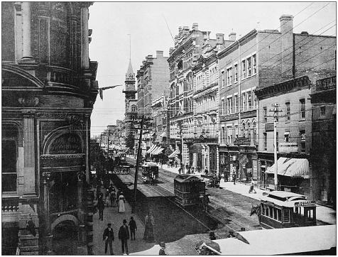 Antique photograph of World's famous sites: Toronto