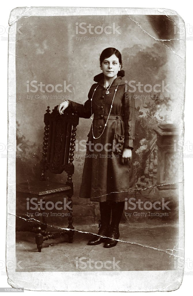 Antique photograph royalty-free stock photo