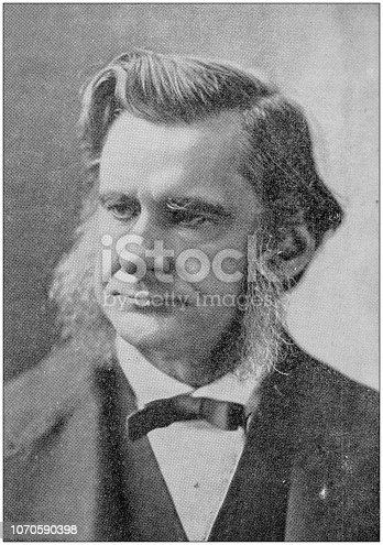 Antique photograph: Thomas Huxley