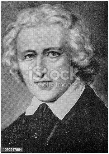 Antique photograph: William Pitt