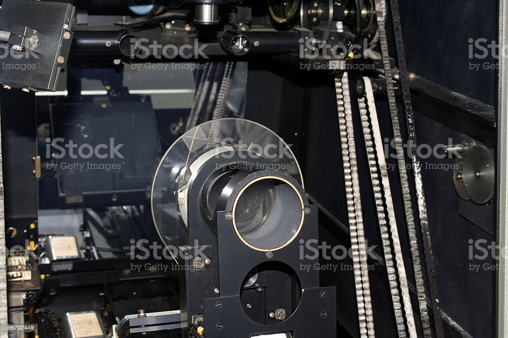 Antique photometry machine royalty-free stock photo