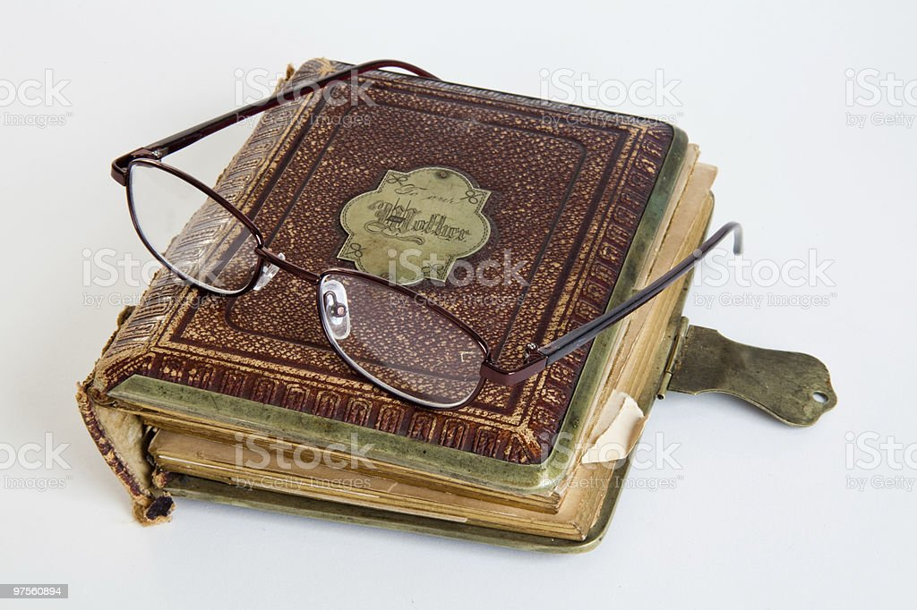 Antique Picture Album royalty-free stock photo