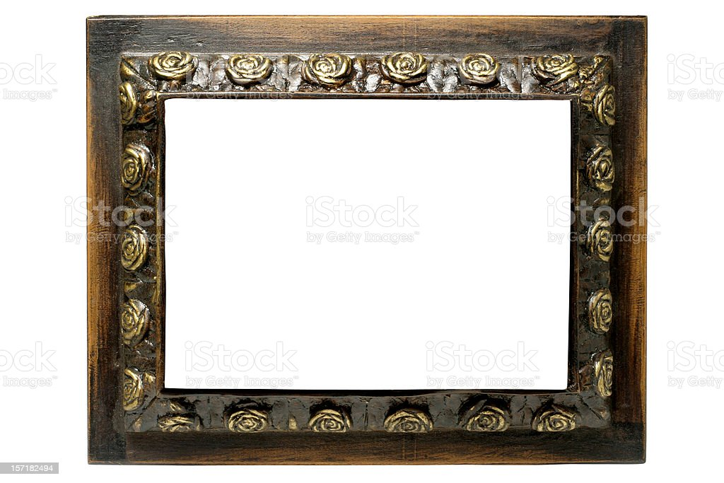 Antique Picture Frame royalty-free stock photo