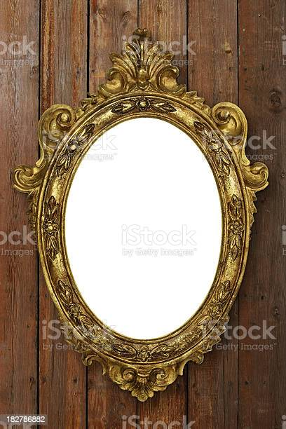 Antique Picture Frame Stock Photo - Download Image Now
