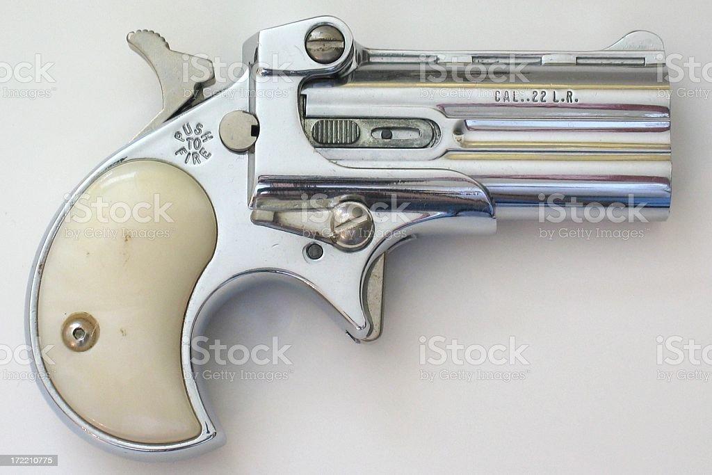 Antique Pistol royalty-free stock photo