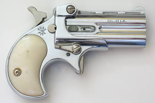 Antique Pistol stock photo