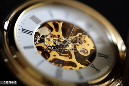 istock Antique pocket watch 153879148