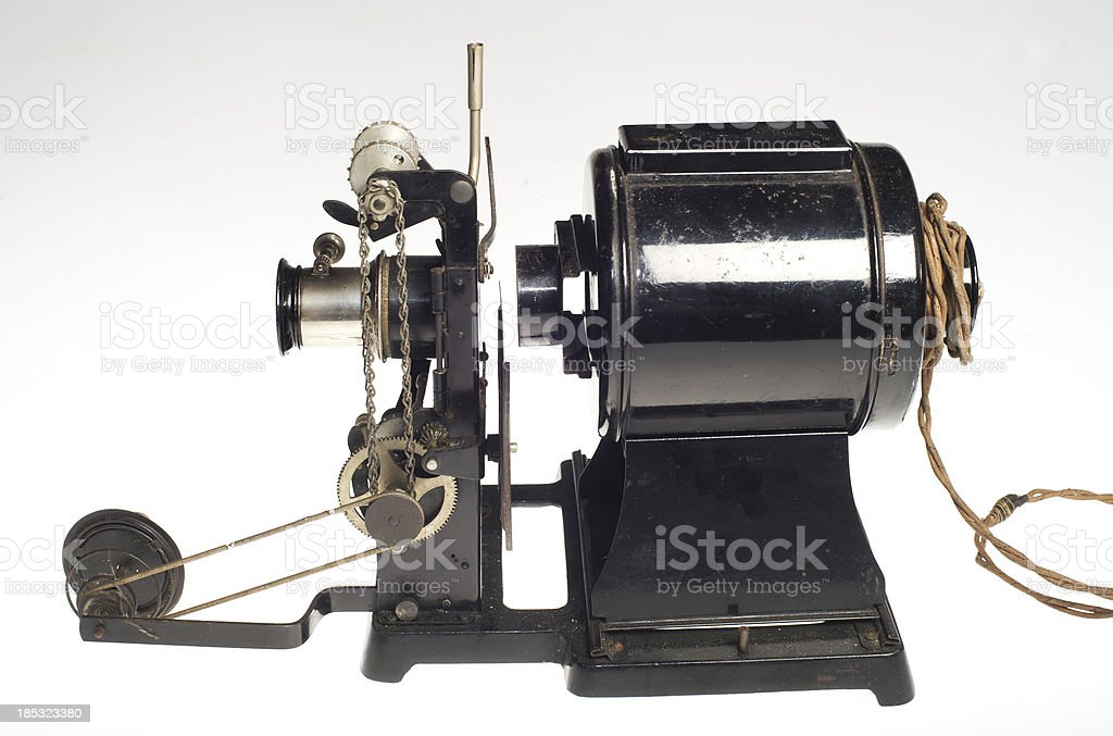 antique projector royalty-free stock photo