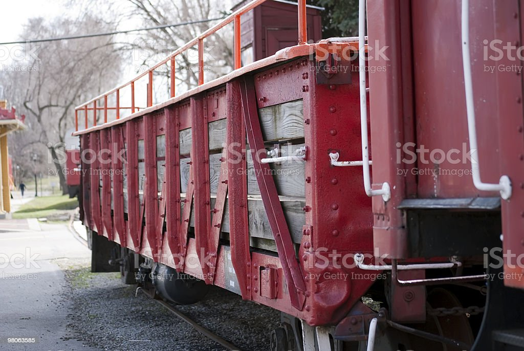 Antique Rail Car royalty-free stock photo