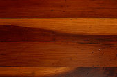 Antique Redwood Floor Boards Background