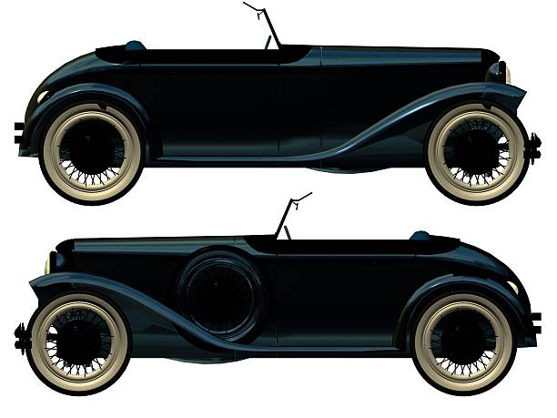 antique roadster  royce lake stock pictures, royalty-free photos & images