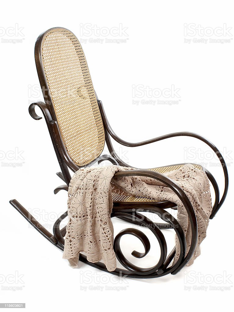 Antique Rocking Chair royalty-free stock photo