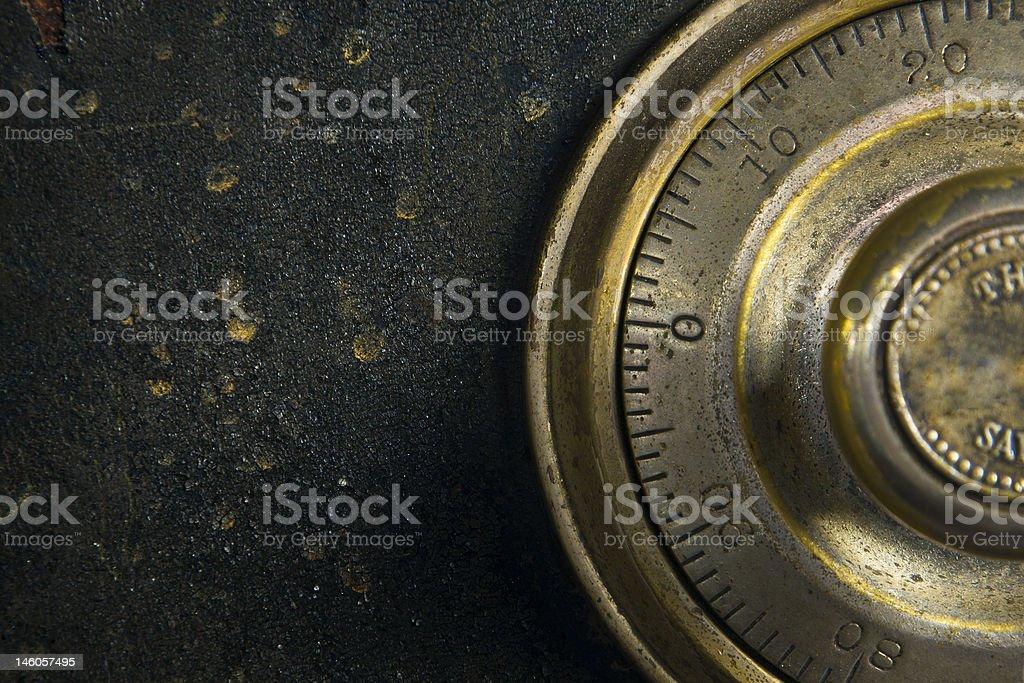 Antique Safe stock photo