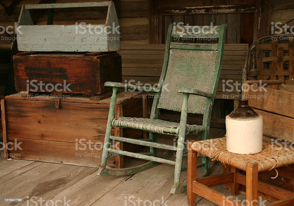 Antique Setting stock photo