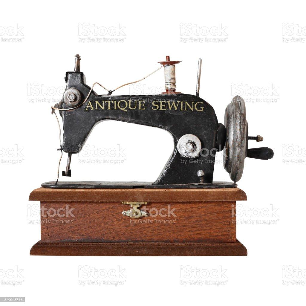 Machine A Coudre Ancienne photo libre de droit de ancienne machine À coudre banque d