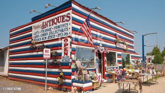 Mugwumps Curiosity Shop located along hwy 89 in Hatch, Utah