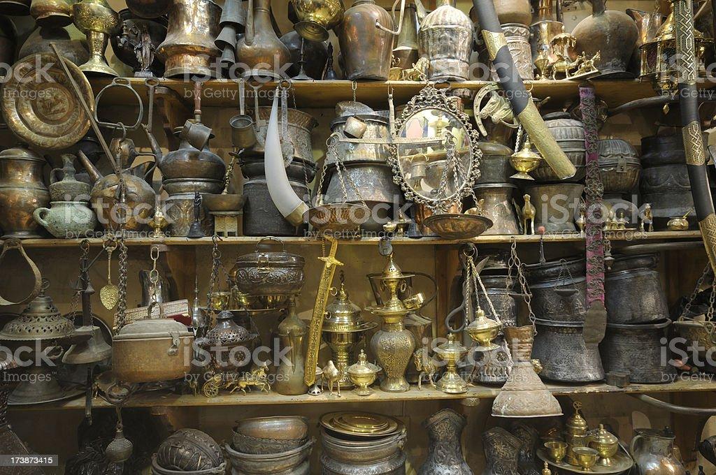 Antique Shop stock photo