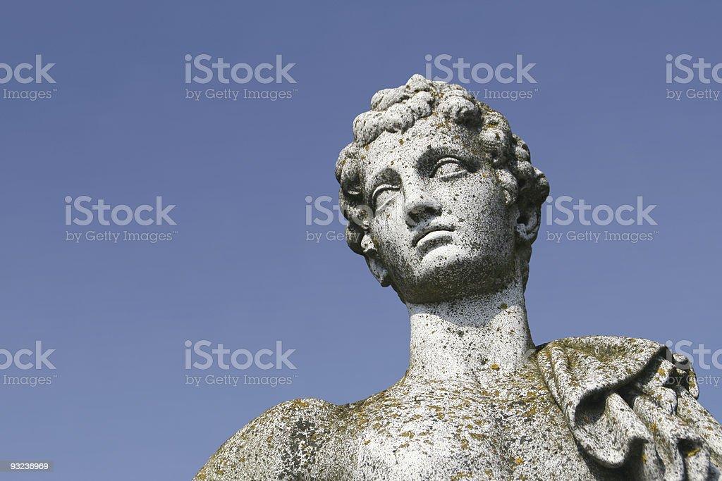 Antique statue stock photo