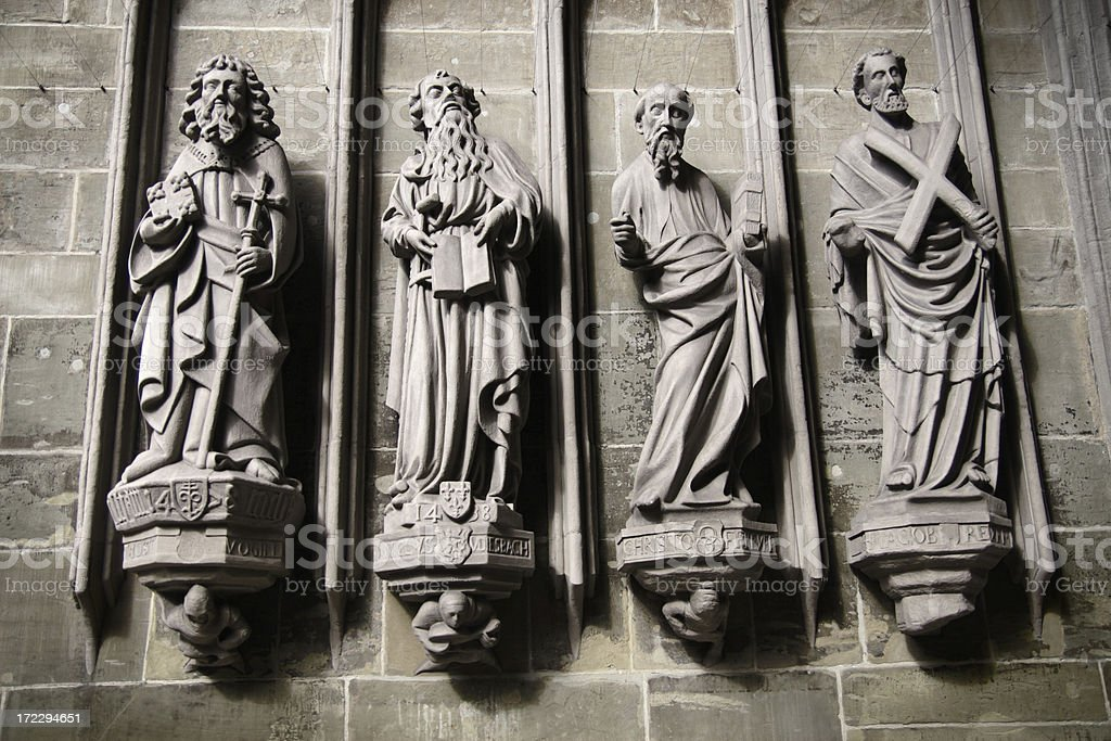 Antique Statues royalty-free stock photo