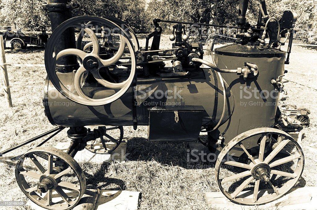 Antique Steam Machine royalty-free stock photo