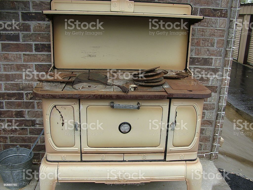 Antique Stove royalty-free stock photo
