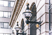 Antique Street Lamp in London