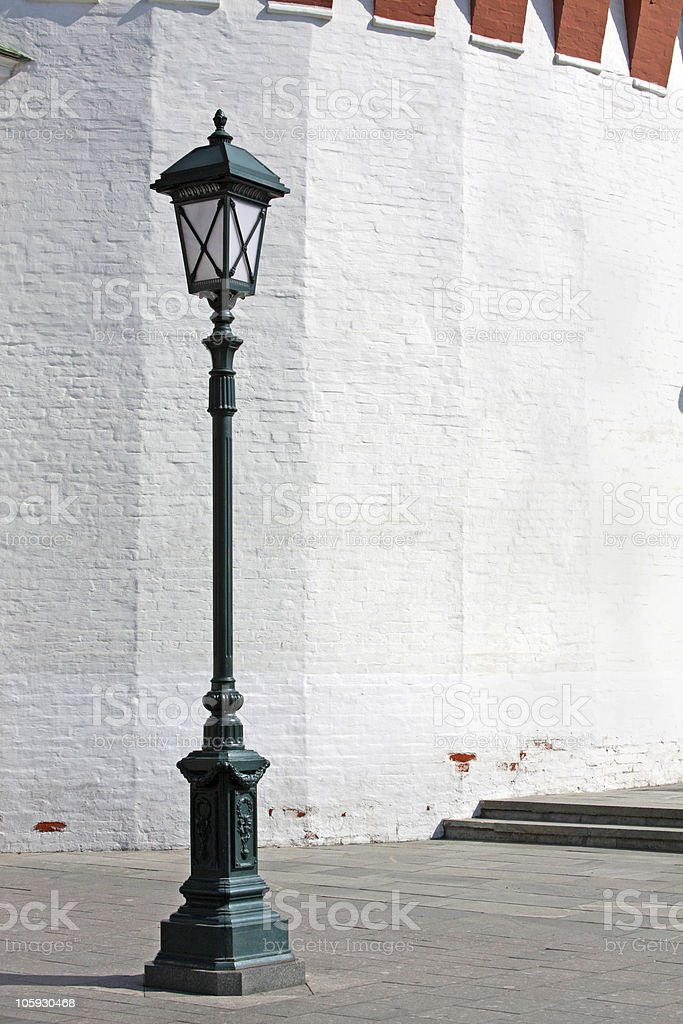 Antique Street Light stock photo