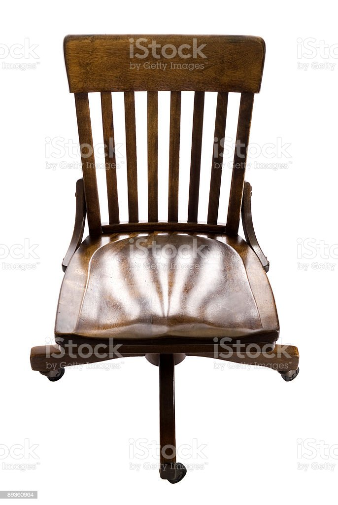 Antique Swivel Office Chair Stock Photo Download Image Now Istock