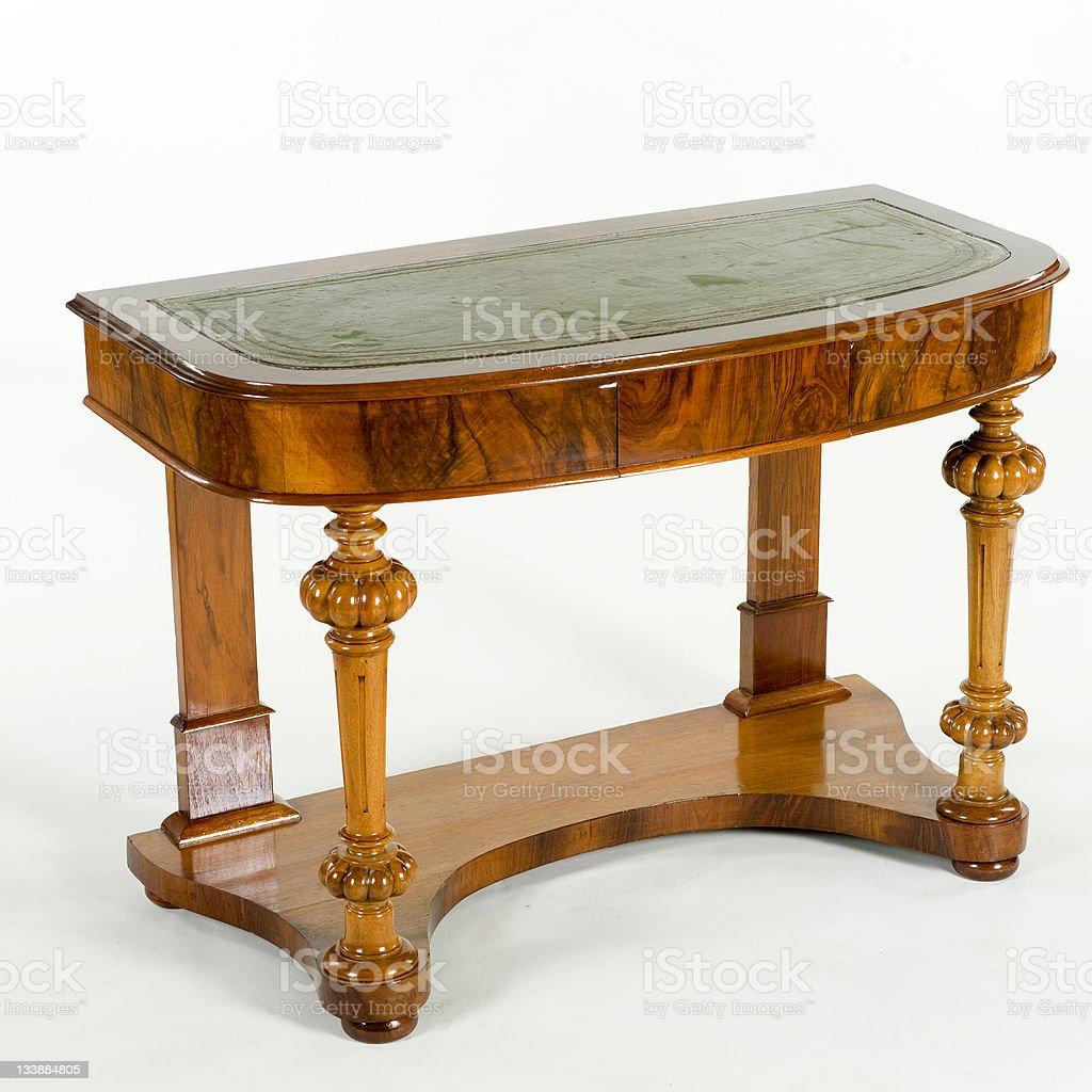 antique table stock photo