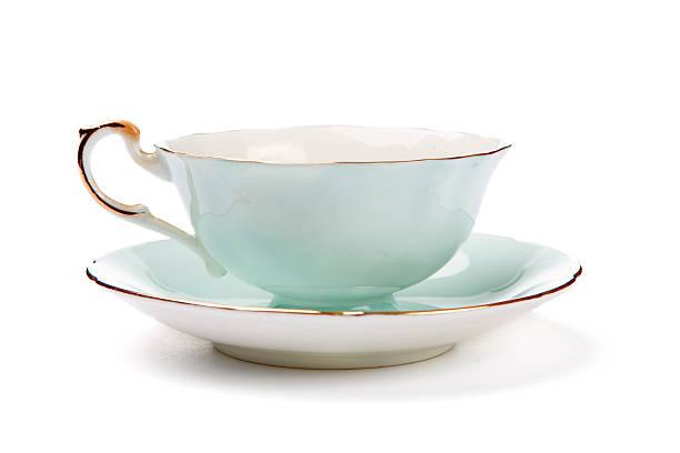 antique tea cup - theekop stockfoto's en -beelden