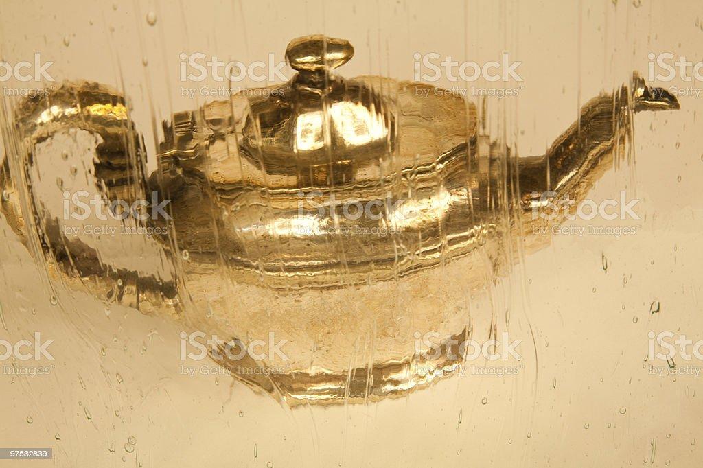 Antique Tea Pot royalty-free stock photo