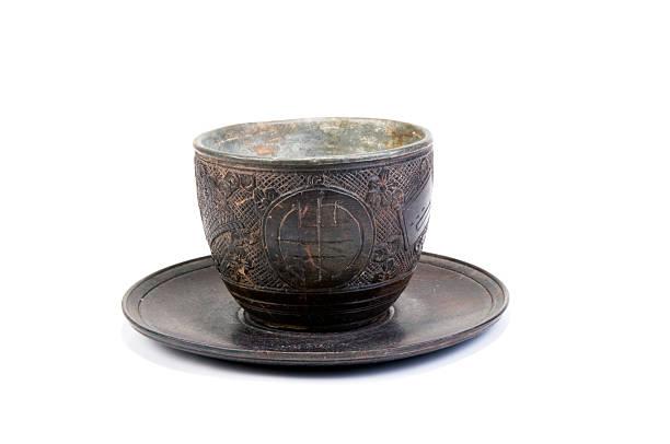 Antike Teacup-englische Redewendung – Foto