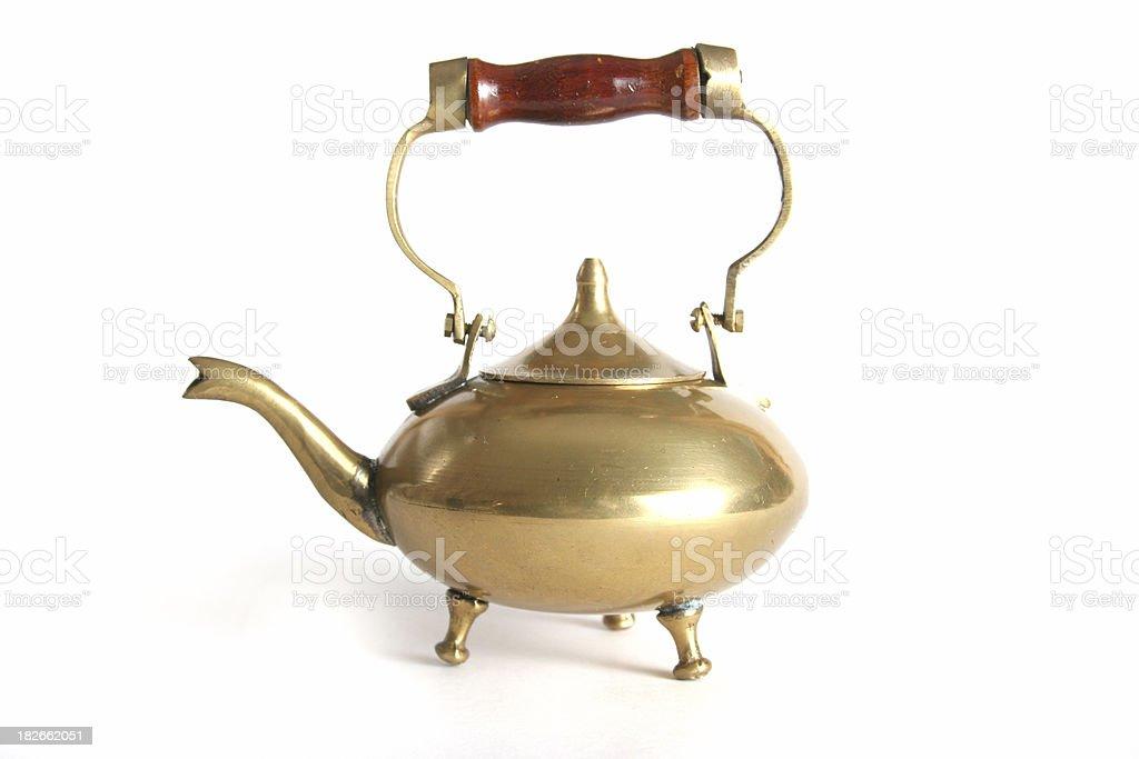 antique teapot royalty-free stock photo