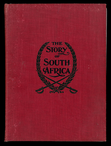 Antique The Story of South Africa Hardcover Book