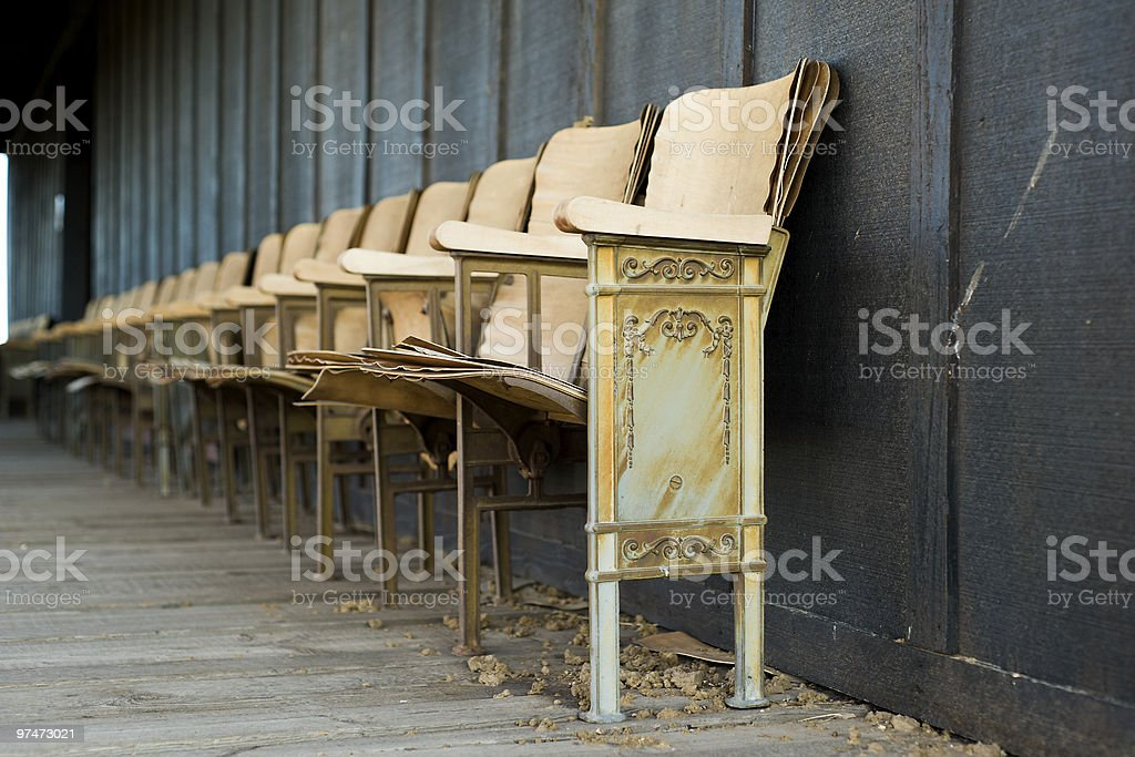 Fine Antique Theater Chairs Stock Photo Download Image Now Istock Caraccident5 Cool Chair Designs And Ideas Caraccident5Info