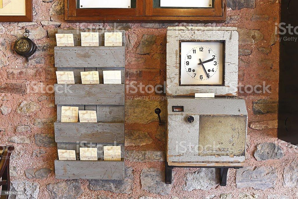 Antikes Time Uhr – Foto