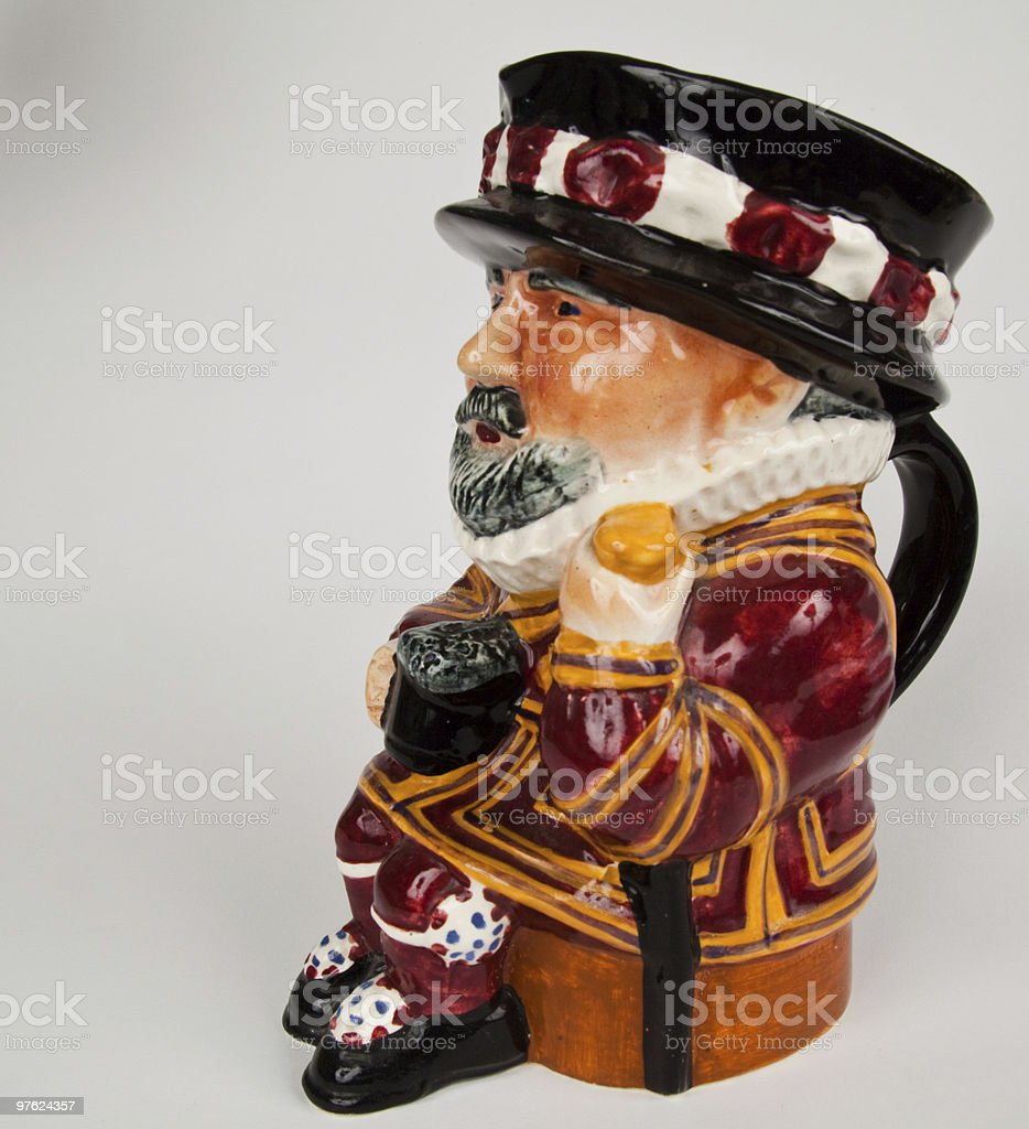 Antique Toby Jug royalty-free stock photo